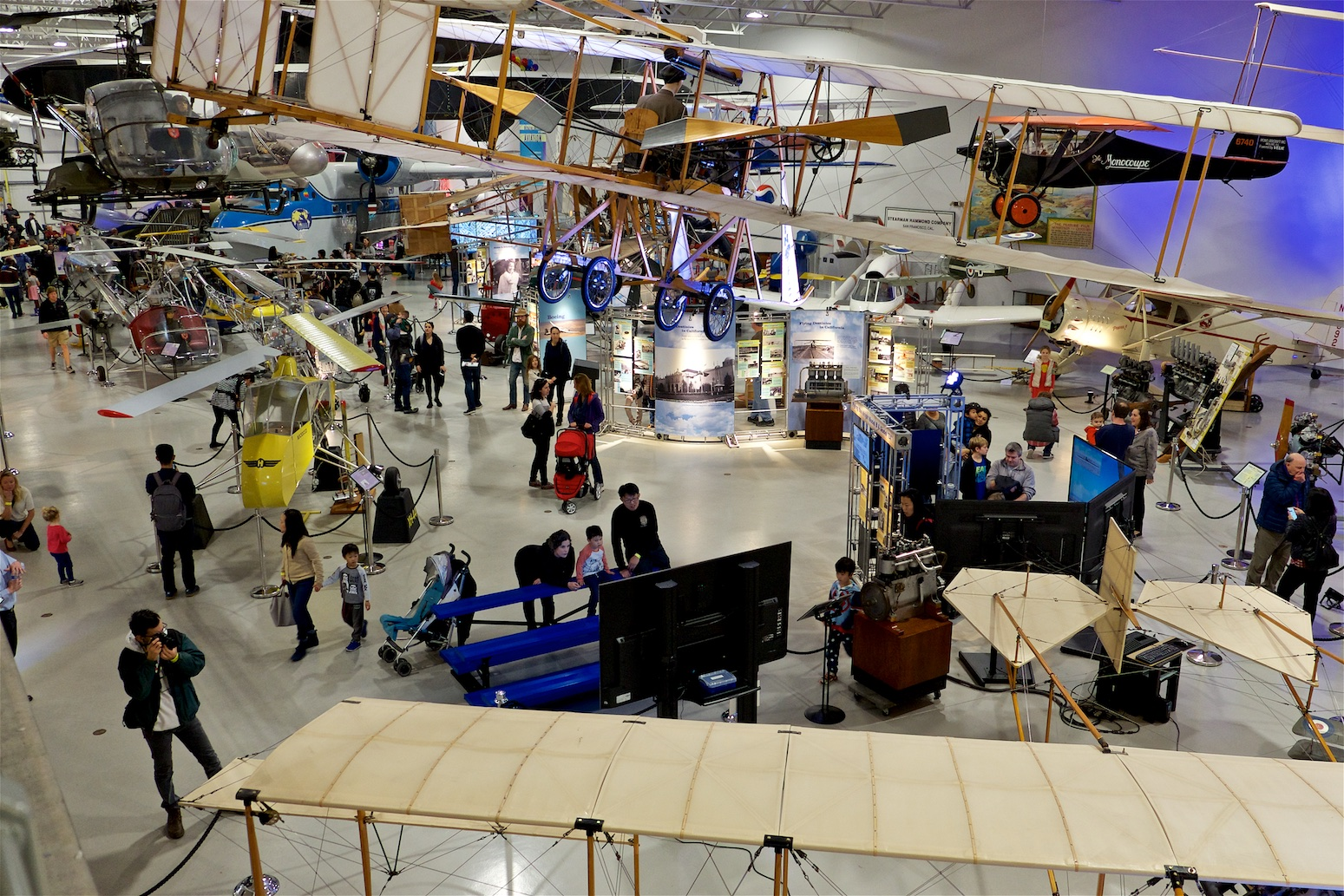 Hiller Aviation Museum Noon Year's Eve,