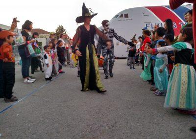 Halloween witch walk
