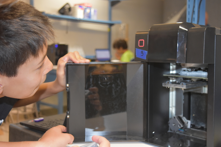 3D Printing in the Invention Lab