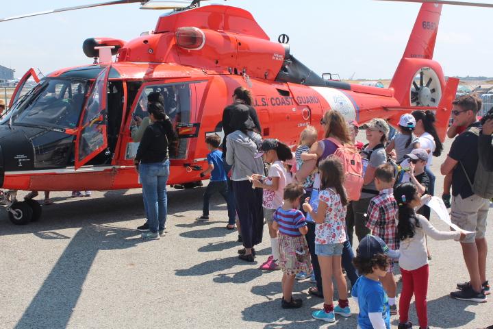 Coast Guard at Kids' Air Fair