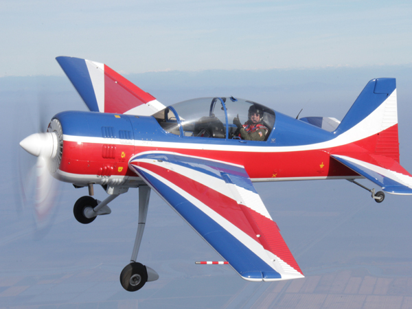 Perkins Yak 54 flying - web