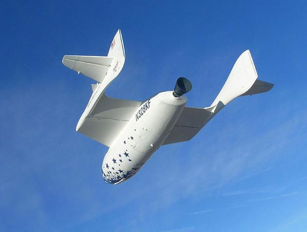 Spaceship One Sky