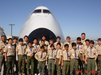 Scouts BSA - Hiller Aviation Museum