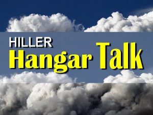 Hiller Hangar Talk @ Hiller Aviation Museum
