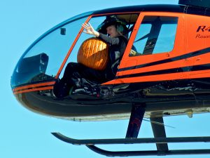 Halloween Kids' Carnival & Helicopter Pumpkin Drop